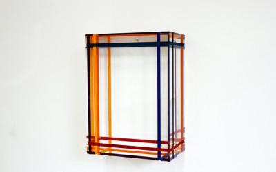 3D Painting II , 2011, 24,5 x 18 x 10, Vinyl Akrylglas