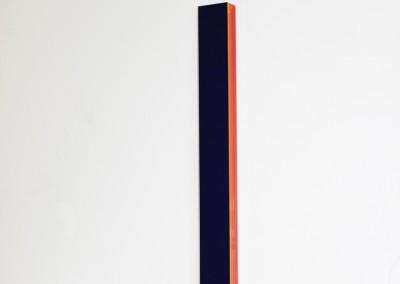 Long Blue Coloured Stripes , , 73,5 x 7 x 4 cm,  Vinyl akrylglas