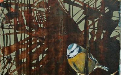 Klein Kerlchen Das Lied vom Quetzalcoatl, 2013, 30x30 cm