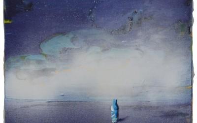 Der Moench am Meer, 2014, 30x40 cm