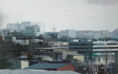 BLACKOUT, 2013, olja på duk 70 x120 cm