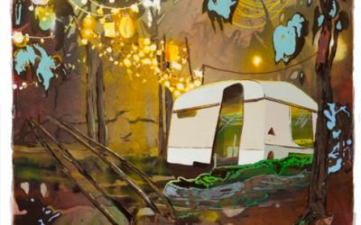 Der Fruehling der Sommer mein Geburtstag und der Winter, 2011, 80x60 cm