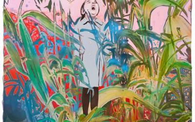 Die Grille, 2011, 80x100 cm