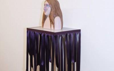 Vandraren II, 2013, papier maché