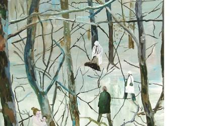 Goda feer, 2008, olja på duk 100x80  cm