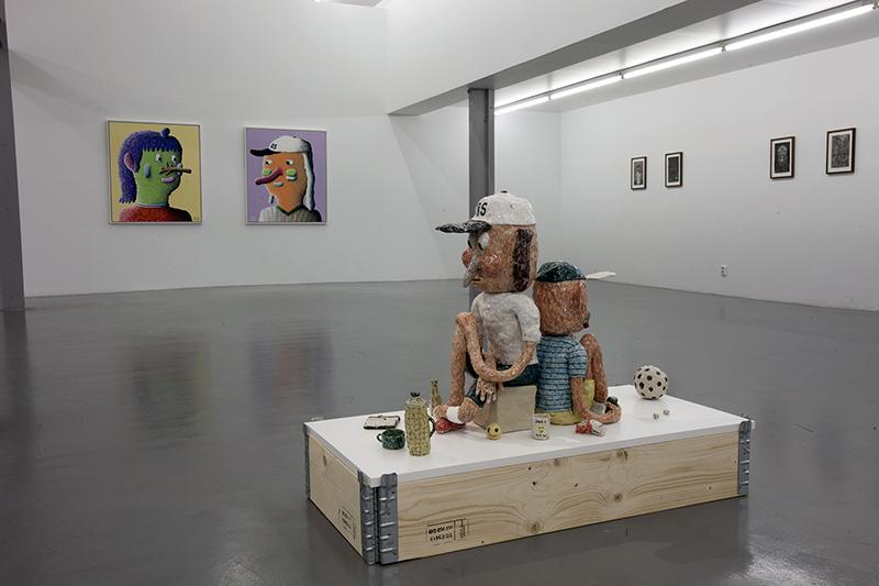 Joakim Ojanen, Installation view, Konsthallen Passagen, Linköping, 2016.