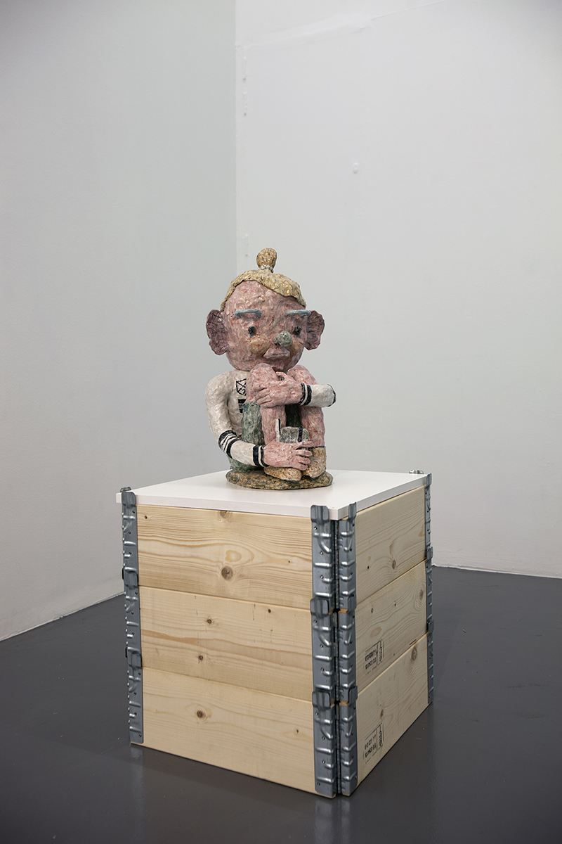 Joakim Ojanen, Sitting wondering, Konsthallen Passagen, Linköping, 2016.