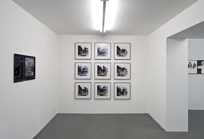 Erik Berglin, Total System Failure, photography. various sizes, part of his solo show G.A.C.G.A.S at Galleri Thomassen, 2015