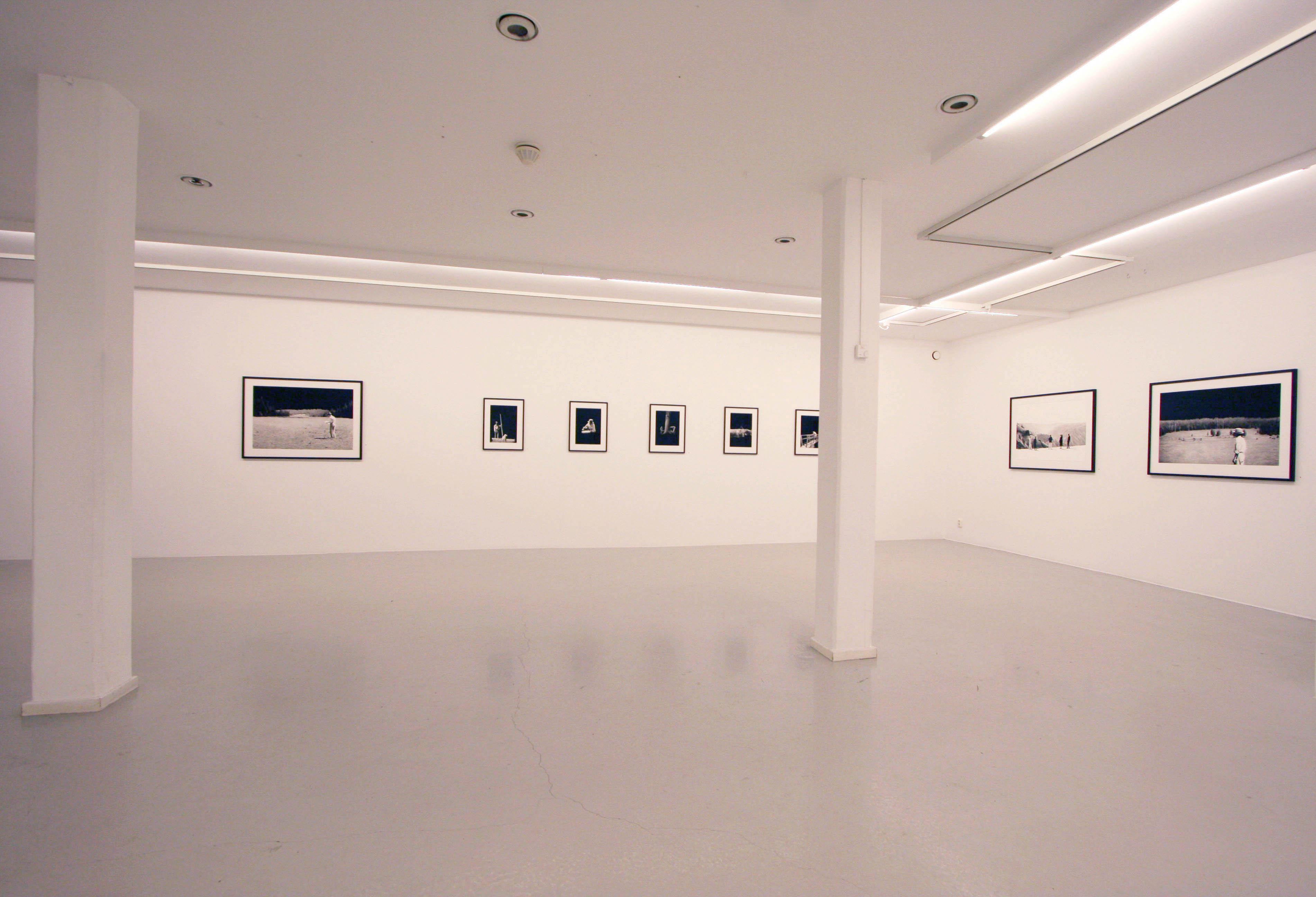 Erik Kihlbaum, Installation view, Circling the Point of Now, at Galleri Thomassen, 2015.