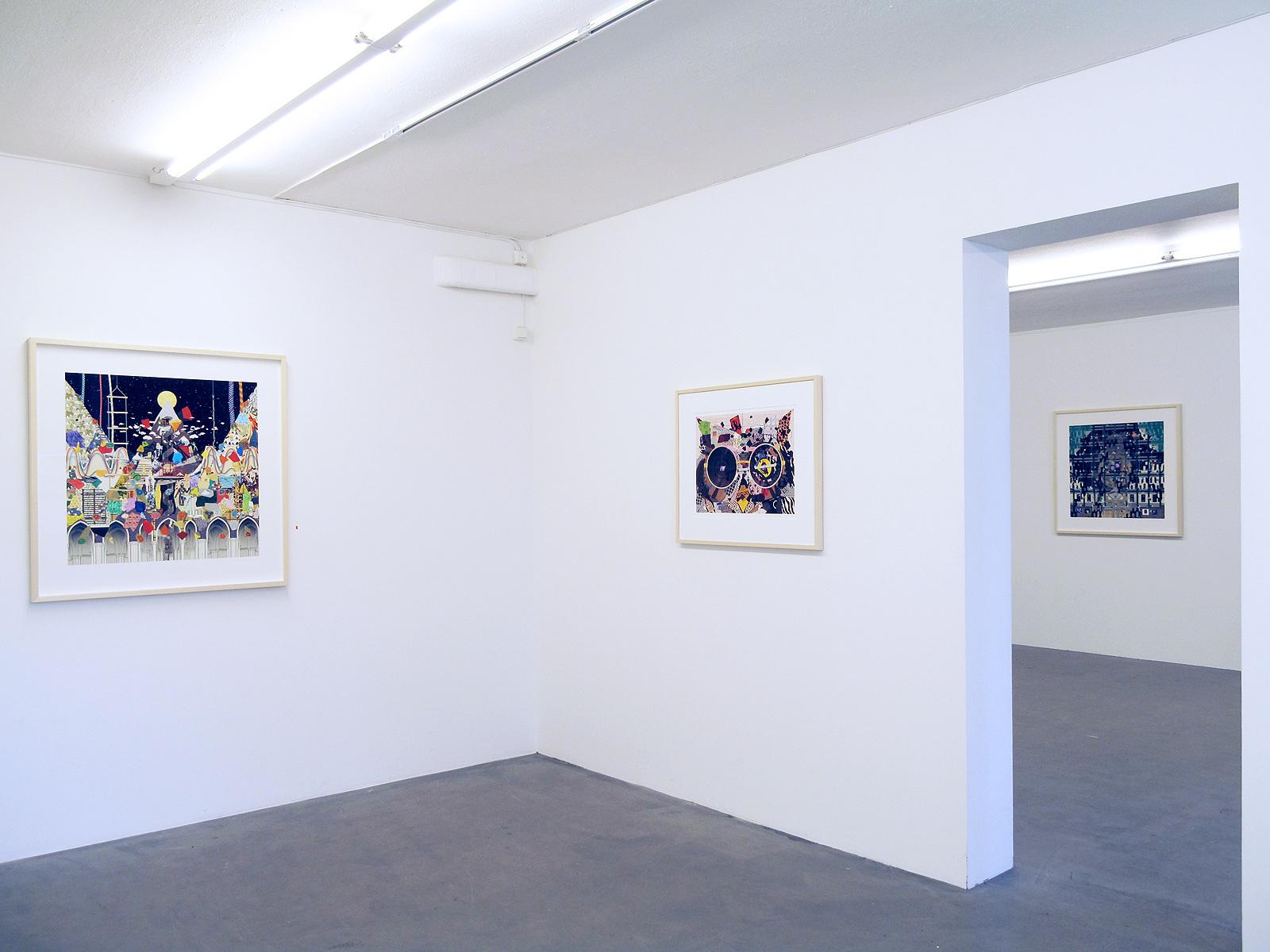 Gustav Sparr, Mount, 2014, 90 x 95 cm, Reader - The Owl In Daylight, 2016, 61.5 x 50.5 cm, Laterna Magika, 2014, 90 x 95 cm, all Inkjet print ed. 9+2