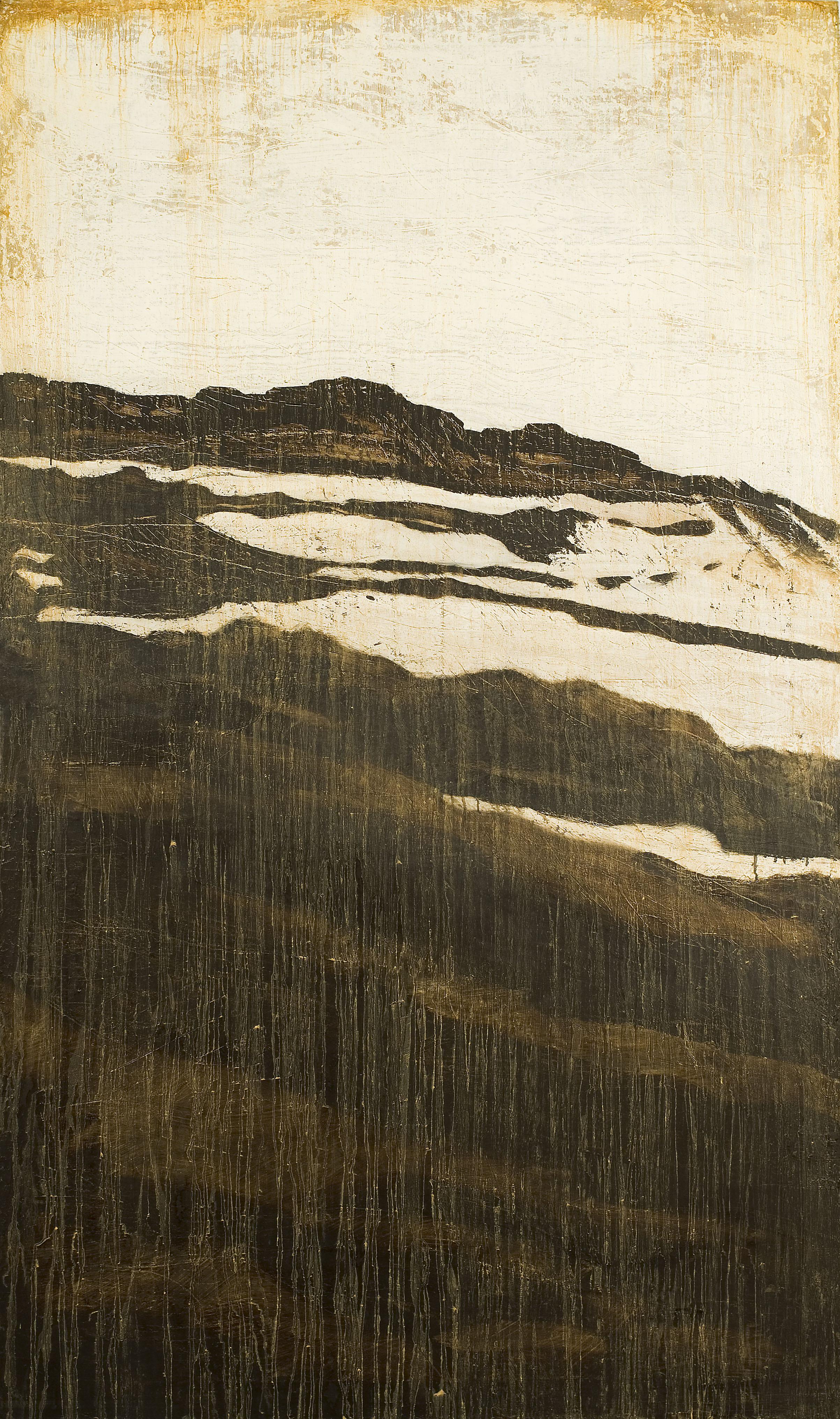 LG Lundberg, Naken, 2007, oil on canvas, 190 x 110 cm