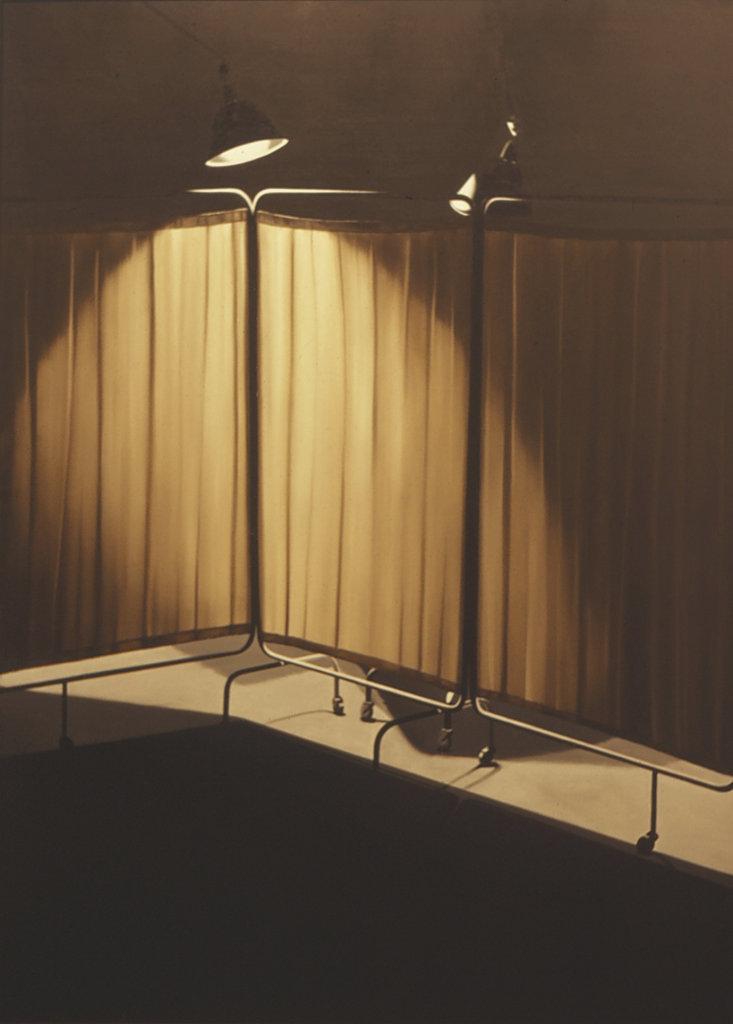 LG Lundberg, Skärm 20, 1973, Oil on canvas, 185x135 cm