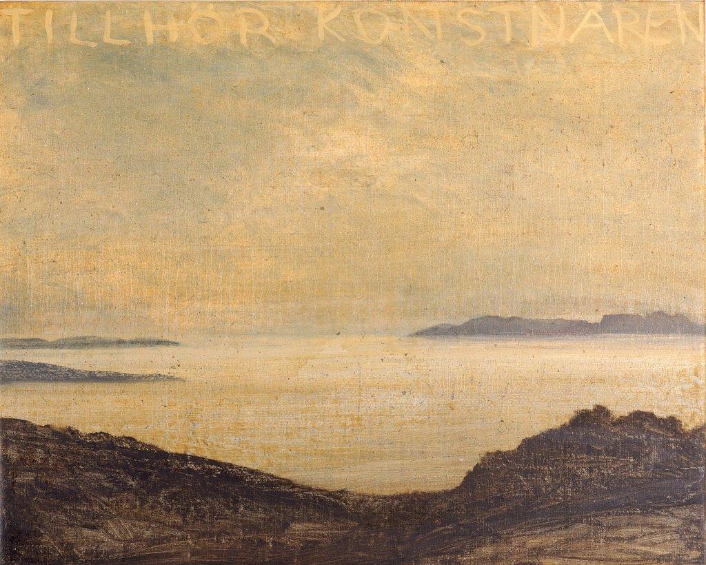 LG Lundberg, Utan titel, 2006, Oil on canvas, 84x104 cm