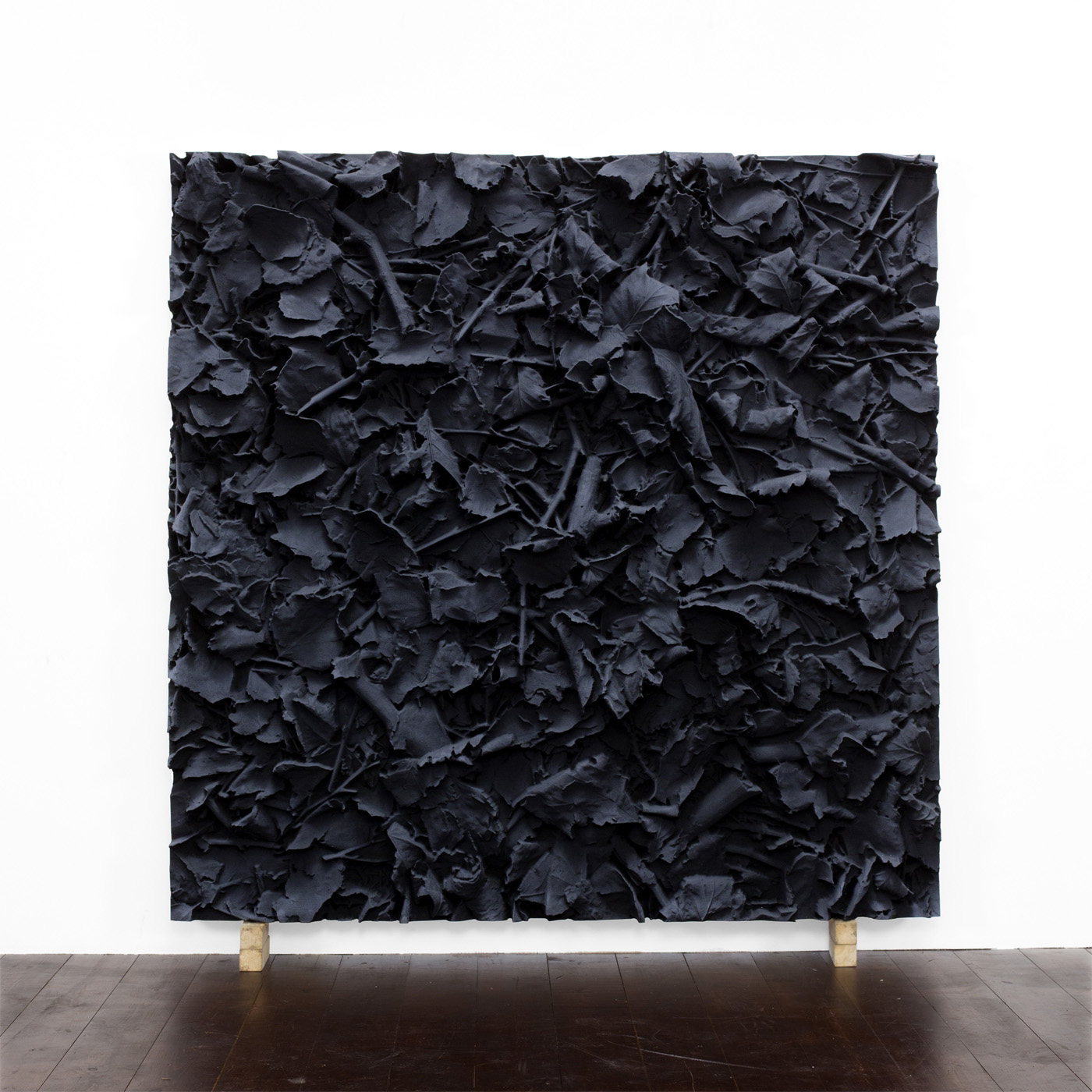 Juri Markkula, Desat Ground, 2016, Pigmented polyvinyl on polyuretan relief, 150 x 150 x 13 cm