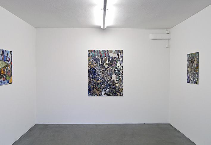 Erik Berglin, Le Nouveau Naïveté, Photographic collage, various sizes, part of his solo show G.A.C.G.A.S at Galleri Thomassen, 2015.