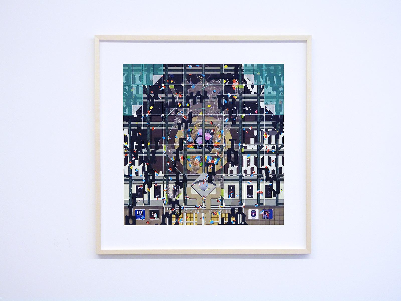 Gustav Sparr, Laterna Magika, 2014, both Inkjet print, ed. 9+2, 90 x 95 cm