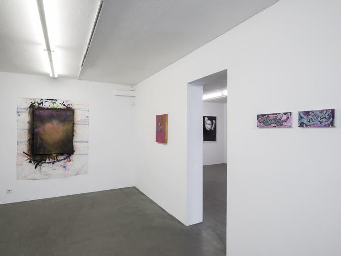 Carolina Falkholt, Installation view 'Din jävla hora', 2017, Galleri Thomassen.